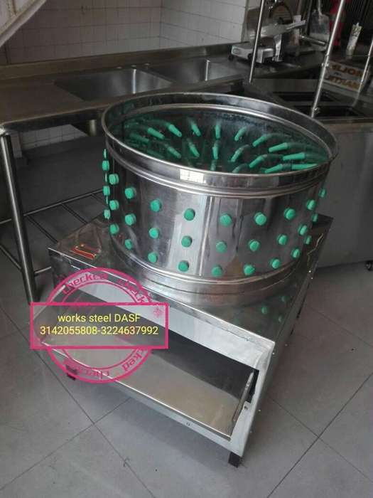 clasificadora silo peletizadora 1: desplumadora escaldadora despulpadora molino marmita dosificador tajadoras