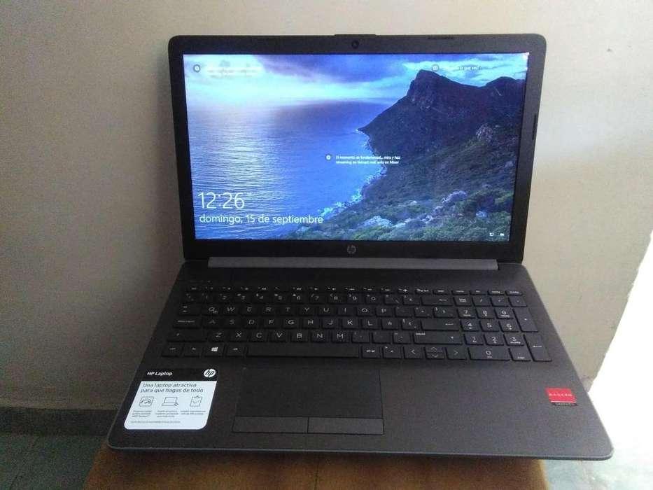 Portátil HP 15-db0012la Windows 10, AMD, 4GB, 500GB, 15.6