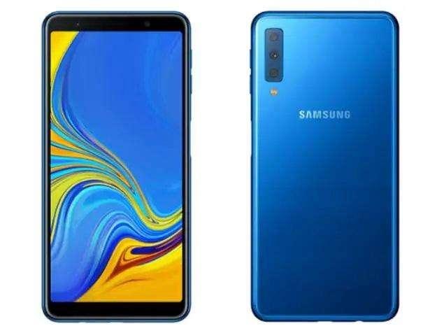 Celular Samsung Galaxy A7 2018 New 128gb