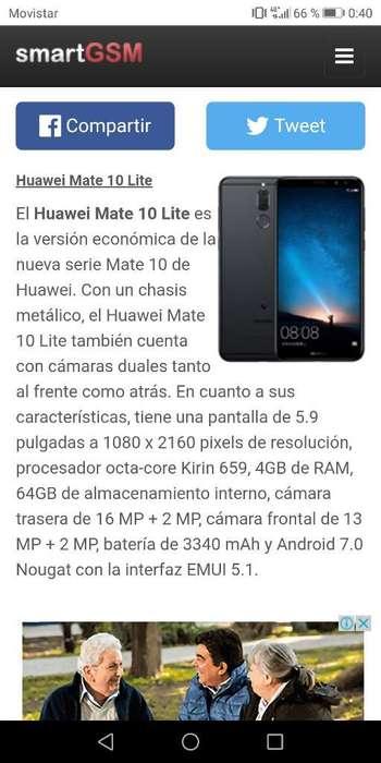 Vendo O Permuto Huawei Mate 10 Lite Libr