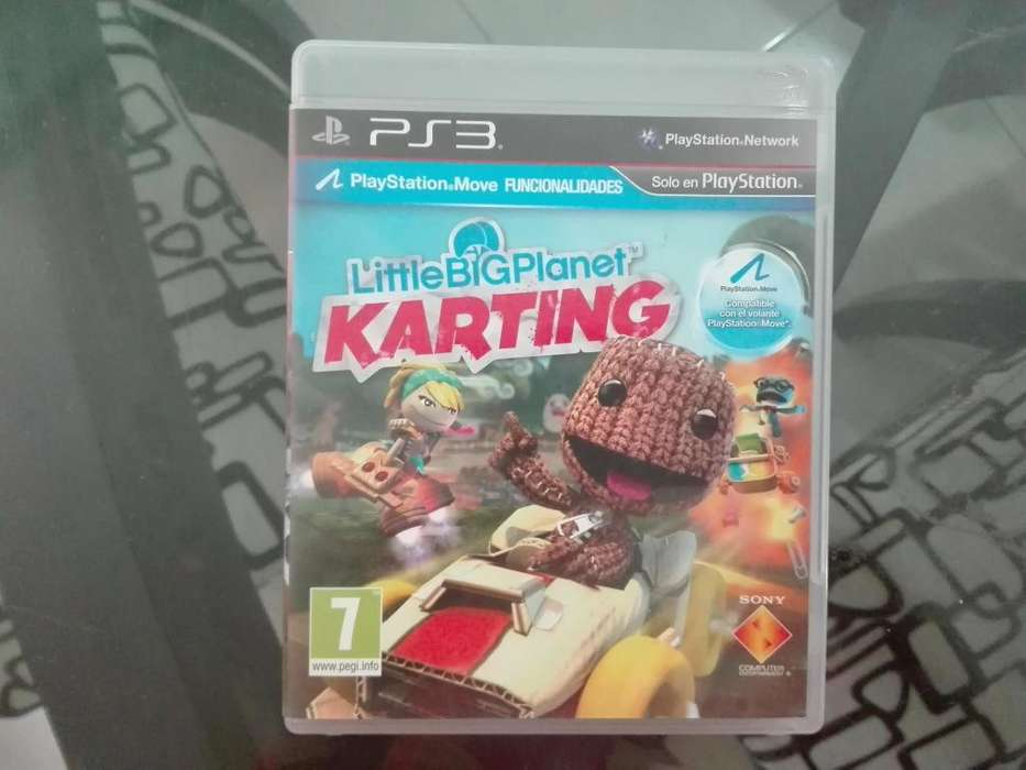 VENTA JUEGO PS3 LITTLE BIG PLANET KARTING BUGA