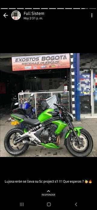 Vendocambio Hermosa <strong>kawasaki</strong> Er6n 650cc