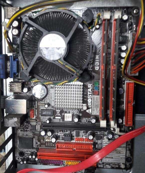 Mainboard Tarjeta Madre Biostar G31M mas procesador intel dual core 2.7 mas memoria RAM 2gb 50 dolares!!! WS 0961522799