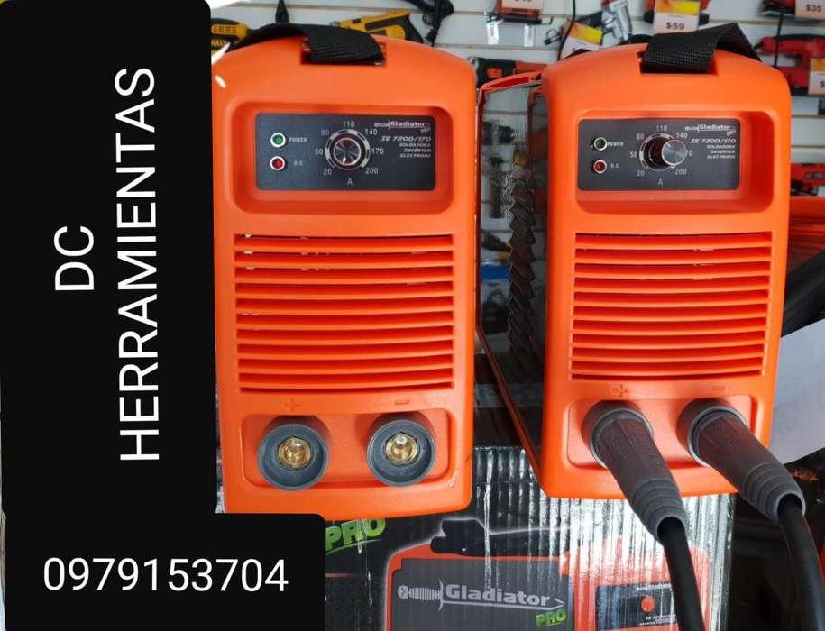 Soldadora Inverter IE 7200 de 200 amp 110 a 220 v Gladiator Profesional nuevo