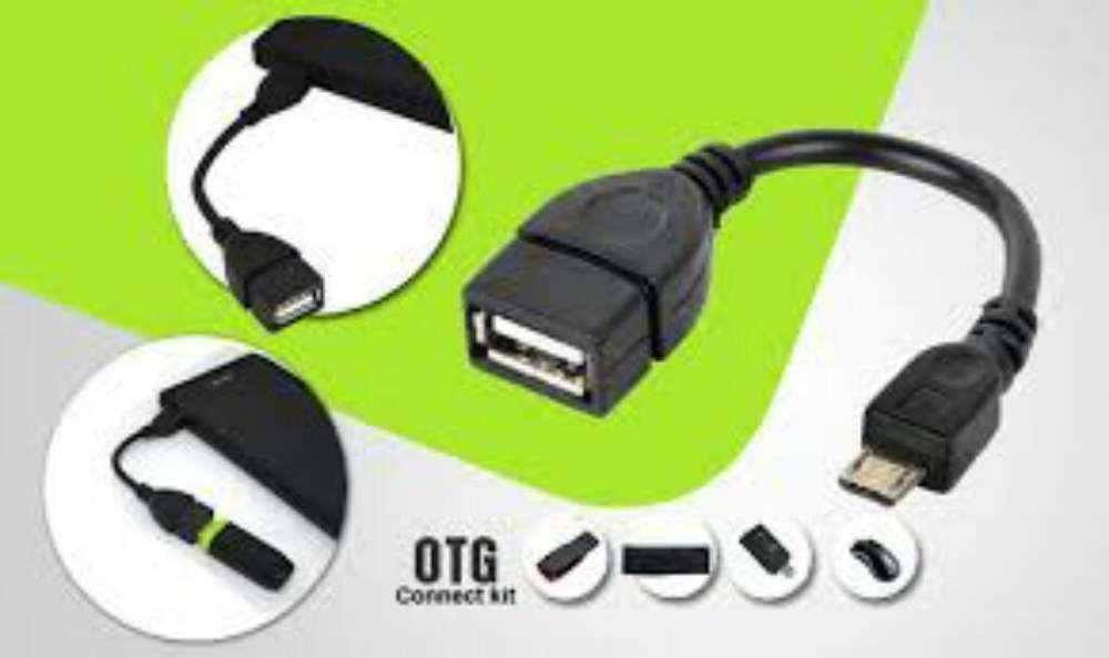 Cable de Datos Otg a Micro Usb