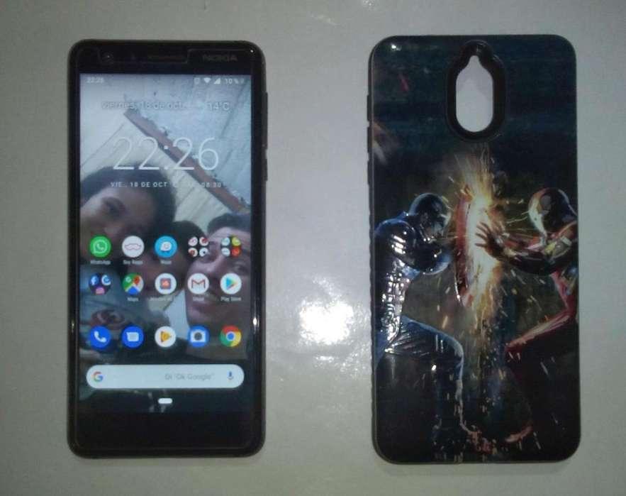 <strong>nokia</strong> 3.1, 4G, 2GB Ram, 8 Nucleos, Android 9, Excelente Estado.