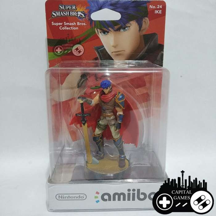 Ike Super Smash Bros amiibo