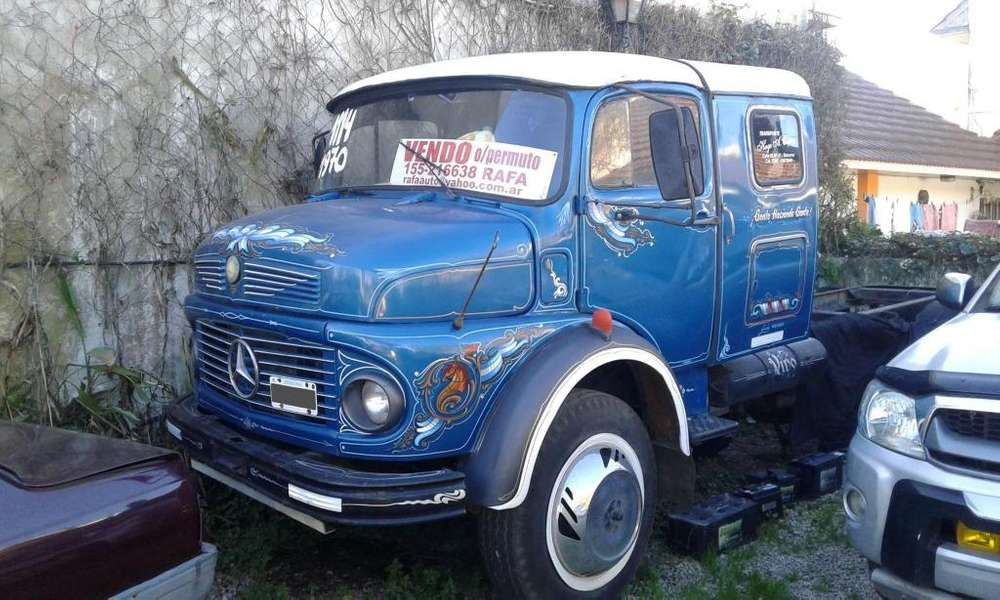 M-benz 1114 año 1970 chasis solo