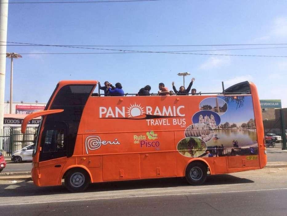 vendo minibus panorámico