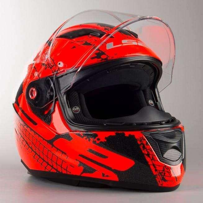 Casco Ls2 Ff320 Doble Visor, Integral, Moto Lineal, Scooter