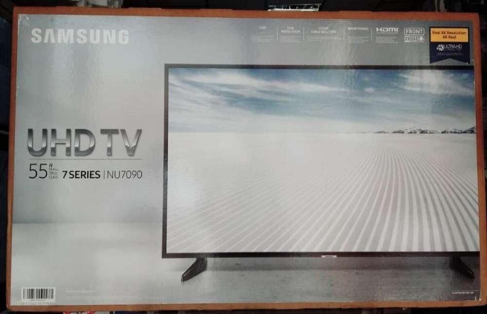 Samsung Smart 55 4k Serie 7 Nuevas de Pa