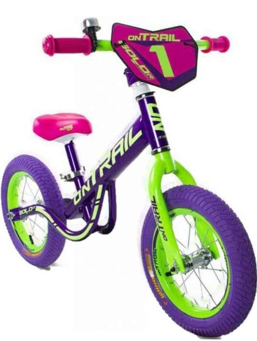 Bicicleta Infantil De Balance Bebe Niños niñas Iniciación Rin 12