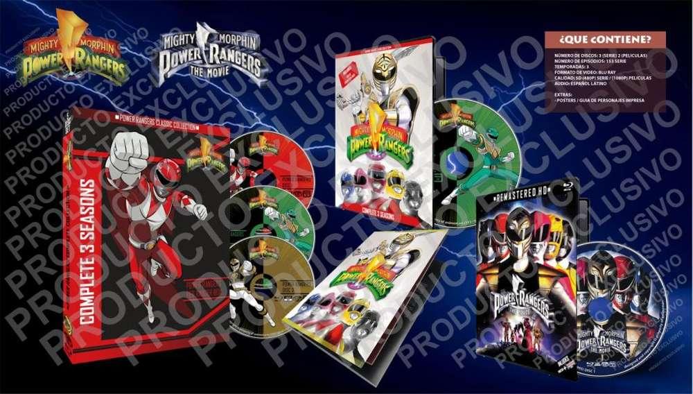 Power Rangers 1993 Serie Completa Mas Peliculas Latino