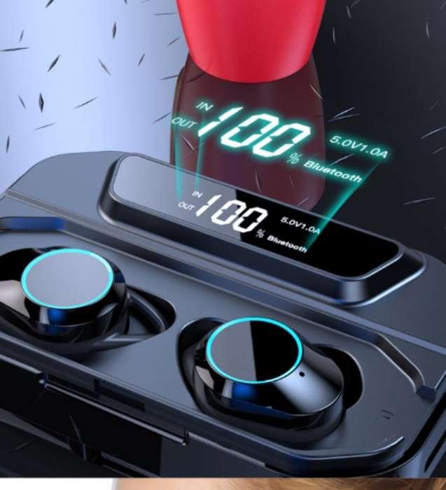 Auricualares Táctiles Power Bank digital
