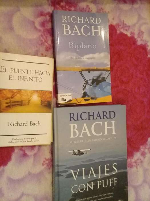 4 Libros Richard Bach