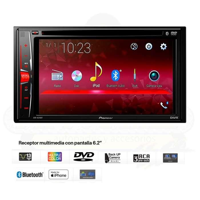 Radio Reproductor Multimedia Para Auto/ Pioneer - Avh-a215bt