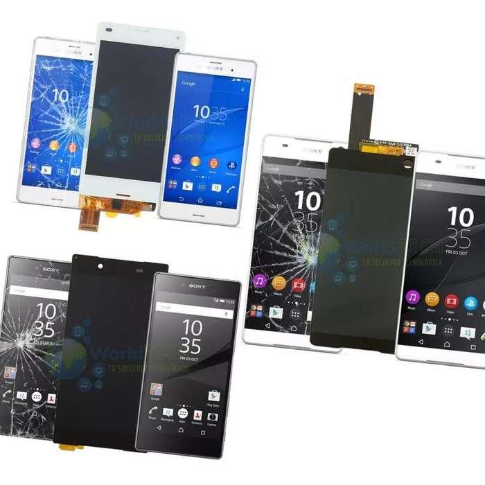 Display Lcd Pantalla Sony Xperia Z4 Z3 Plus Xa M5 E5 C4