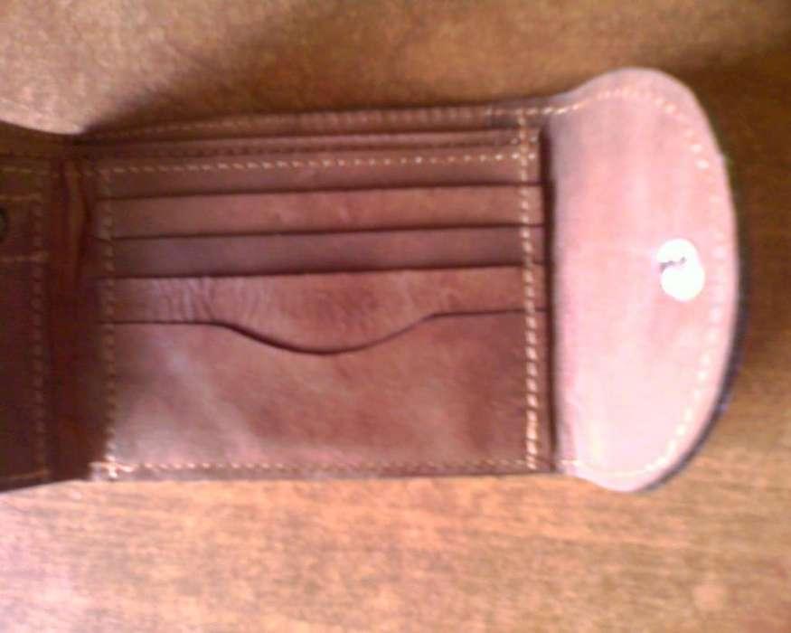 Billetera de cuero Mistral