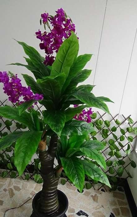 Orquídeas Artificiales Plantas Decorativas Sintéticas