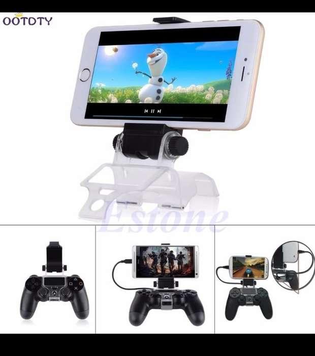 para Playstation Ps4 Juego Controlador Inteligente Móvil Teléfono Clip Abrazadera de Soporte Titular de Montaje