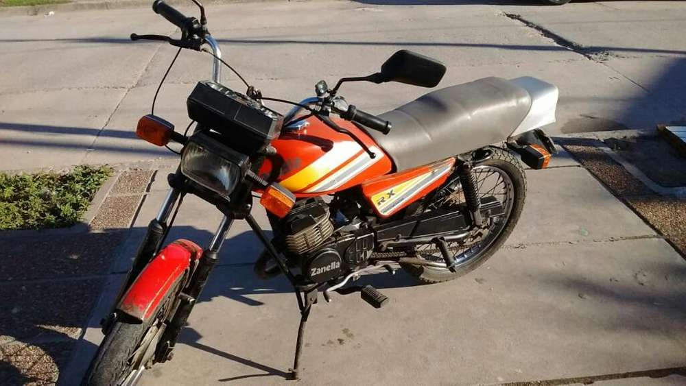 Vendo Moto Zanella Rx L25, Acepto Bicicl