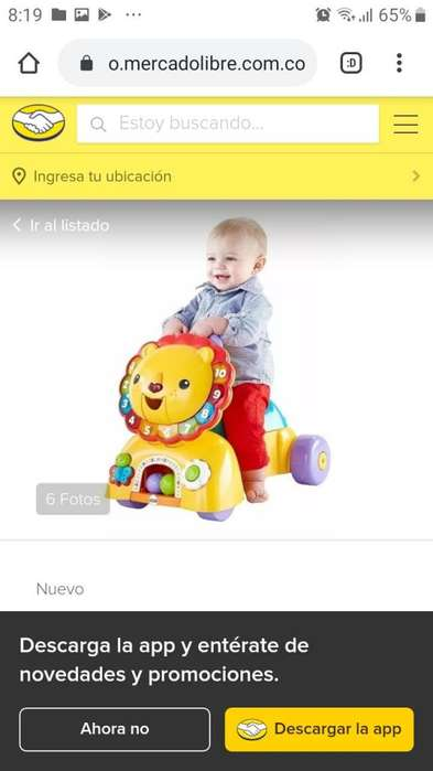 SE VENDE LEON FISHER PRICE 3 EN 1
