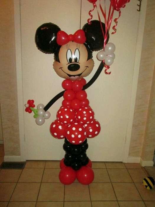Globos Metálicos de Cabeza de Mickey