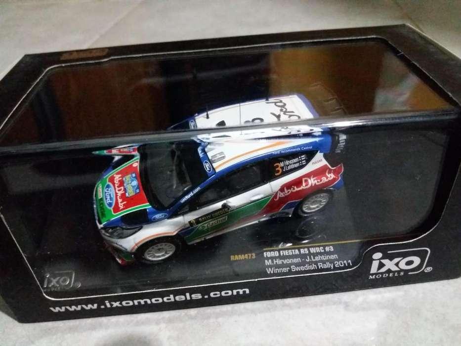 Ixo Models 1/43 Fiesta Mitsubishi Evo Ds3