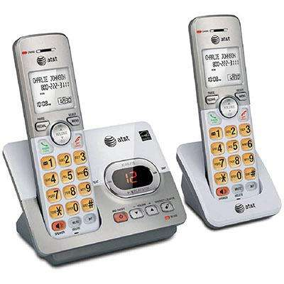 Telefono Inalambrico Att Set 2 Unds Contestador Id