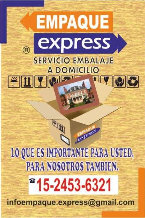 EMBALAJE DE ENCOMIENDAS A DOMICILIO EMPAQUE EXPRESS
