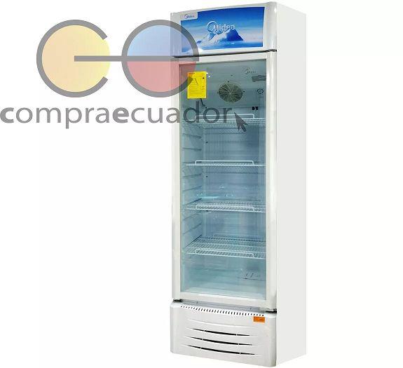 Midea Refrigerador Exhibidor Vertical 23 10.9 Pies Cúbicos