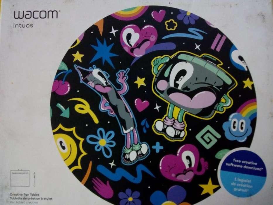 vendo tablet de dibujo WACOM intuos s - solo popayan cauca