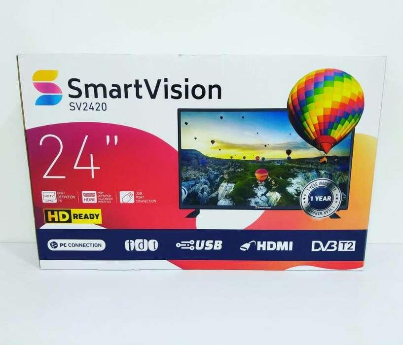 <strong>televisor</strong> Led 24'' Marca Smartvision