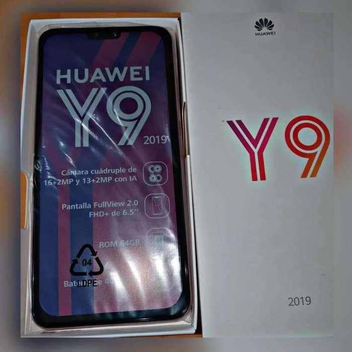 ¡¡SUPER PRECIO!! Vendo Huawei Y9 2019 3/64 Ganga!!