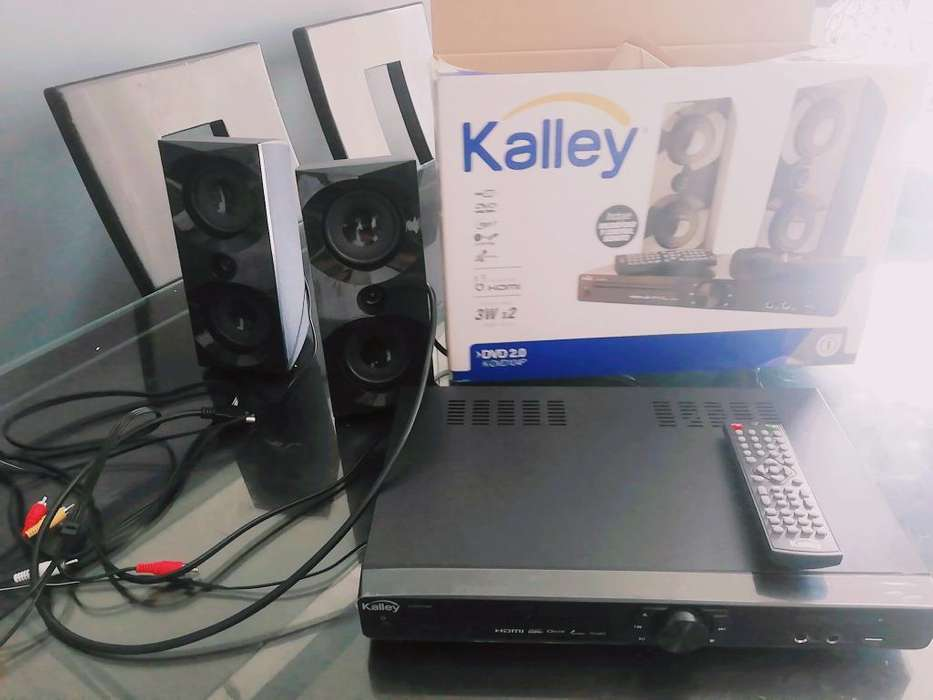 Dvd Hdmi Kalley