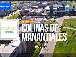 <strong>terreno</strong> en venta, Colinas de Manantiales, Publica 100