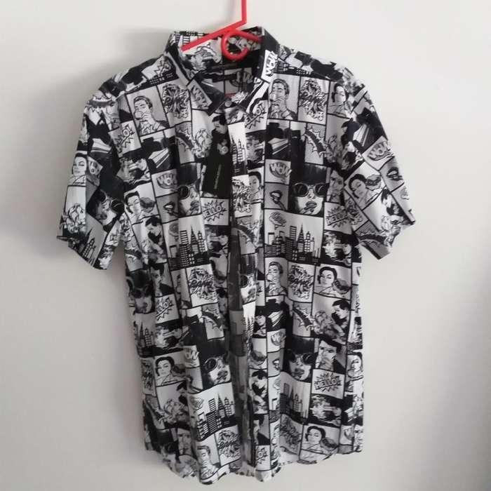 Camisas Comics L Y Xl