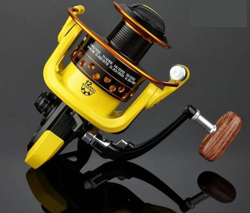 Carreto de Pesca Tipo Spining 12 Baliner