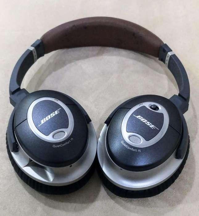 audifonos bose quietcomfort 15