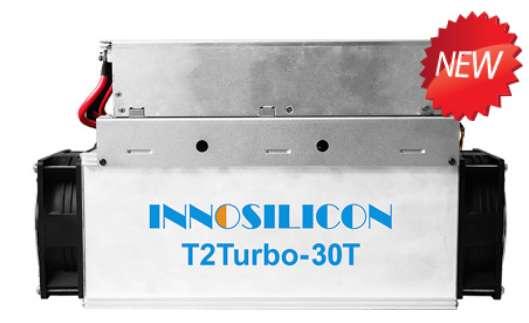 Minadora de Bitcoin - Innosilicon T2 30Ths