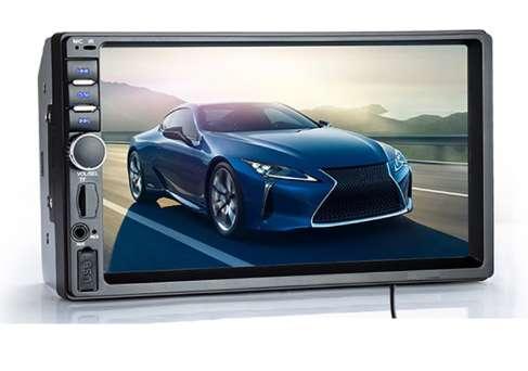 Radio Parra carro pantalla táctil de 7 pulgadas Bluetooth usb Mirrolink 2 din NUEVO