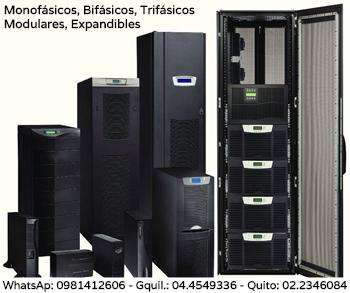 UPS On Line Doble Conversión. Monofásicos, Bifásicos, Trifásicos. WhatsApp 0981412606