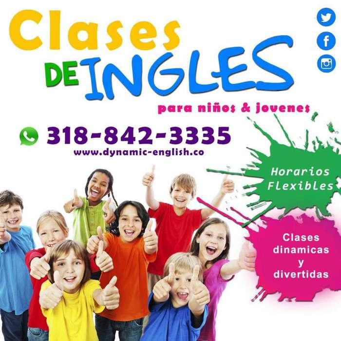 Clases de Inglés Personalizadas para niños y jóvenes