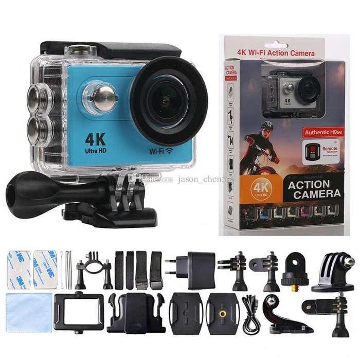 cámara 4k sumergible