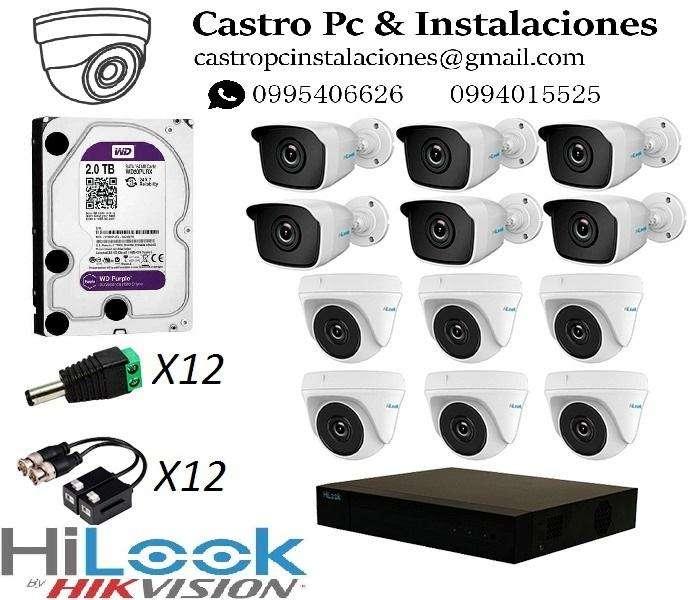 Cámaras de Vigilancia, Alarma, Cercas Eléctricas, Controles de Acceso