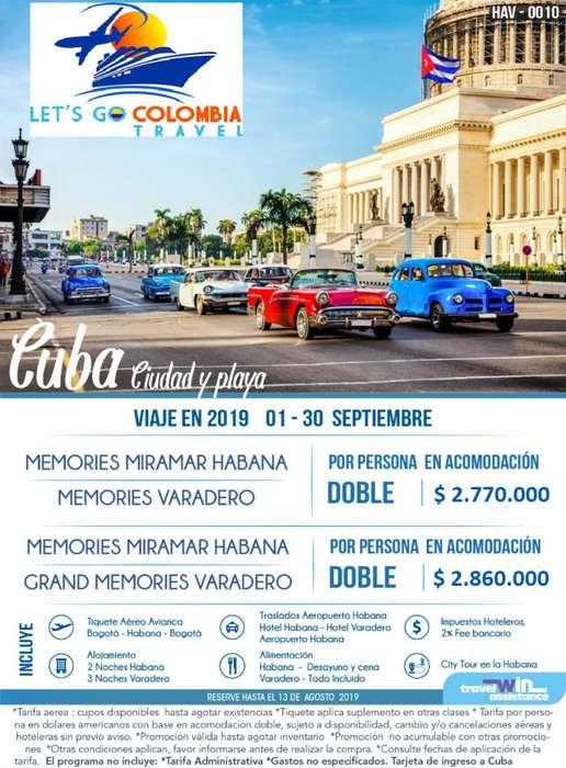 Cuba Ciudad y Playa