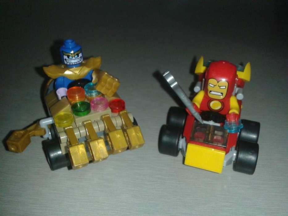 Lego Mighty Micros (generico Marca Bela)