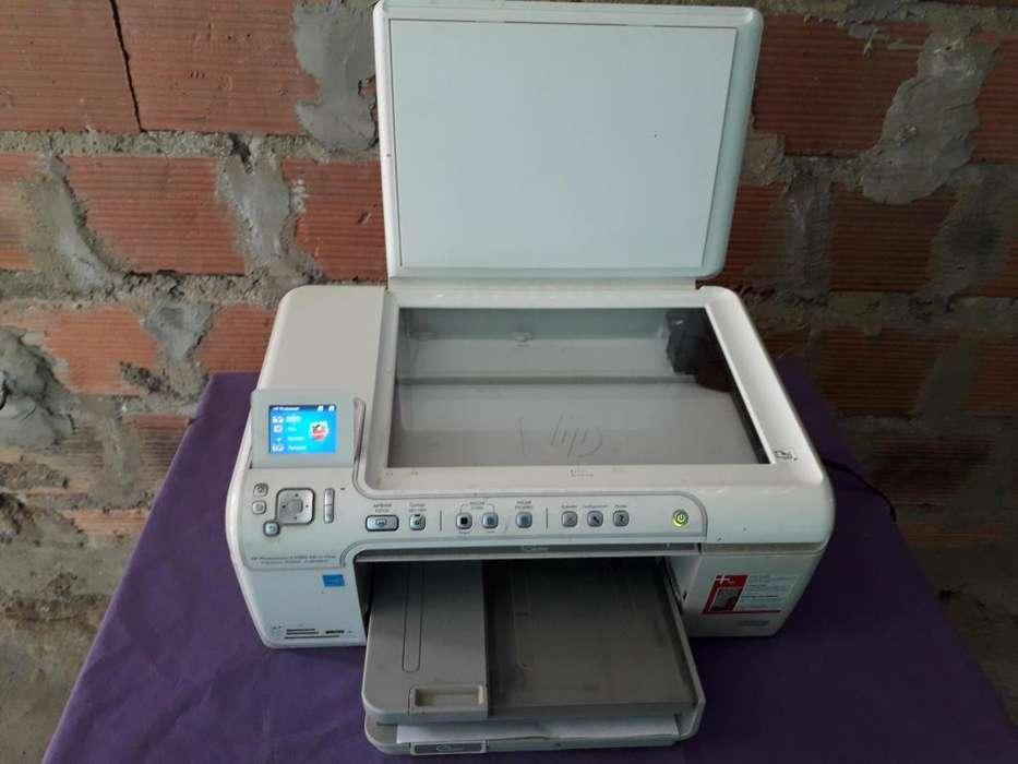VENDO IMPRESORA HP PHOTOSMART C5580