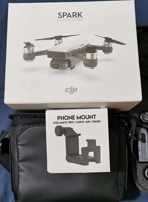vendo dji spark fly more combo