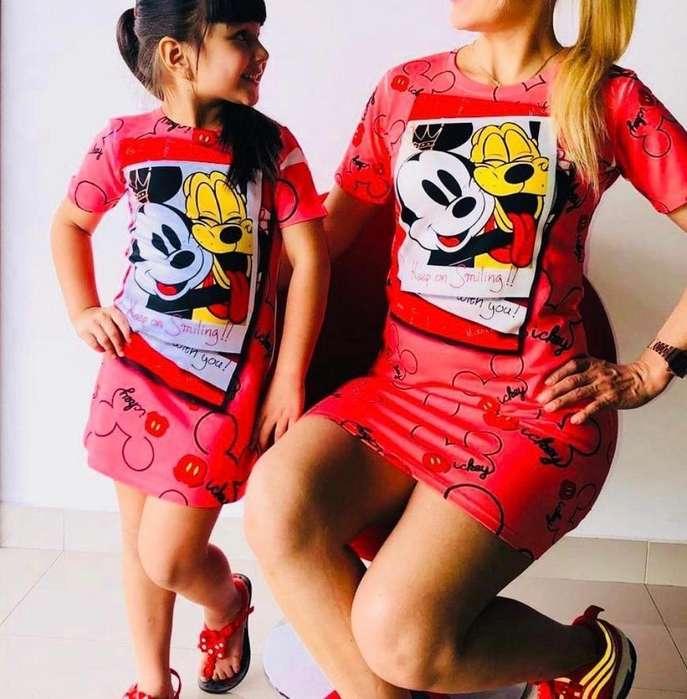 Vestidos de Mamá E Hija 110